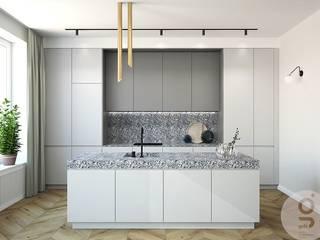 Mieszkanie w Krakowie: styl , w kategorii Kuchnia zaprojektowany przez GOLT Studio,