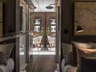 TINY HOUSE Pasillos, vestíbulos y escaleras modernos de SUMATORIA Moderno
