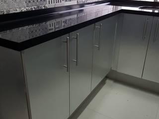COCINA INTEGRAL SyS Cocinas Integrales CocinaEncimeras Metálico/Plateado