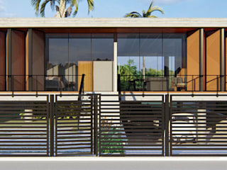 Residência CL Casas minimalistas por Trim Arquitetura Minimalista