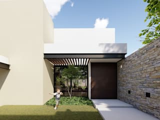 Modern houses by MUTAR Arquitectura Modern