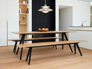 Neuvonfrisch - Möbel und Accessoires ห้องทานข้าวเก้าอี้และม้านั่ง ไม้