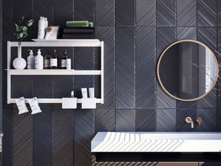 Damiano Latini srl BathroomShelves Aluminium/Seng White