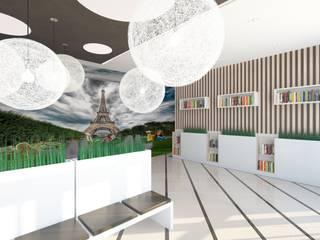 Студия дизайна интерьера квартир в Киеве belik.ua Minimalist museums