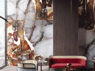 Modern walls & floors by Tecnografica Modern