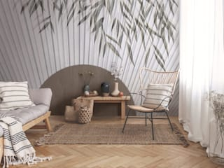 Asian style walls & floors by Tecnografica Asian