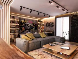 Living room by Beta İç Mimarlık, Modern