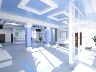 Студия дизайна интерьера квартир в Киеве belik.ua Minimalist office buildings