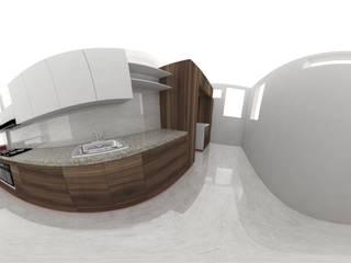 現代廚房設計點子、靈感&圖片 根據 Epaidea 現代風