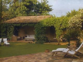 Casale S.: Casa di campagna in stile  di Sabina Casol - Architetto, Rustico