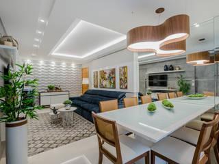 Comedores de estilo  por L+W Arquitetos , Moderno