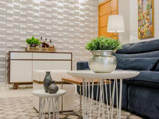 Livings de estilo  por L+W Arquitetos , Moderno