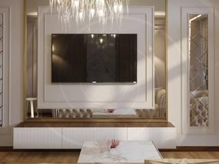 Çayyolu Daire Projesi Modern Oturma Odası Lego İç Mimarlık & İnşaat Dekorasyon Modern