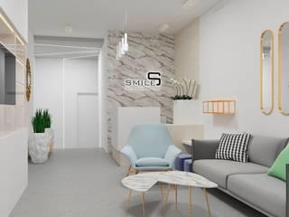 Дизайн интерьера холла стоматологический клиники, г. Киев Рабочий кабинет в стиле модерн от Constantin Malinowski Interior Design and Decoration Модерн