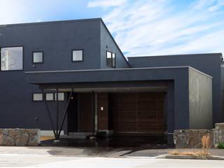 KK House in Sapporo の HOKUTO DESIGN OFFICE オリジナル
