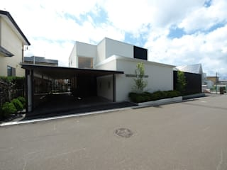 H House in Hakodate の HOKUTO DESIGN OFFICE オリジナル