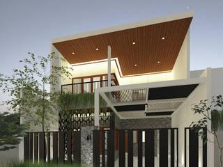 Petemon House SEKALA Studio Rumah tinggal Wood effect