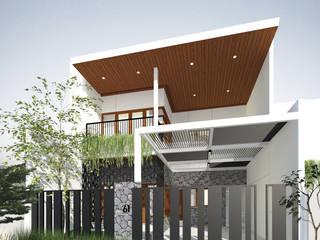 Petemon House: Rumah oleh SEKALA Studio,
