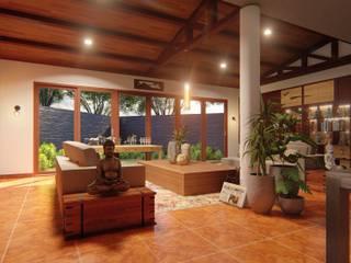 Paranaque House Extension by JPSolatorio Architectural Design Services Asian