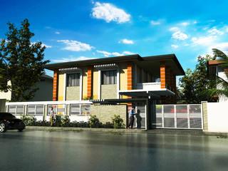 Paranaque Roxas Boulevard Construction by JPSolatorio Architectural Design Services Asian
