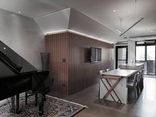 Salle à manger moderne par 形構設計 Morpho-Design Moderne