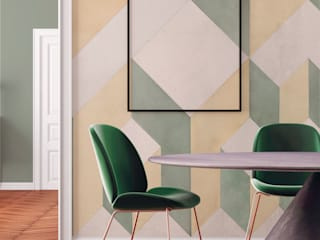 Tecnografica Moderne muren & vloeren Geel