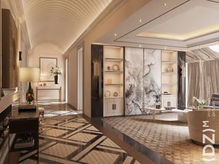 Classic style living room by (DZ)M Интеллектуальный Дизайн Classic
