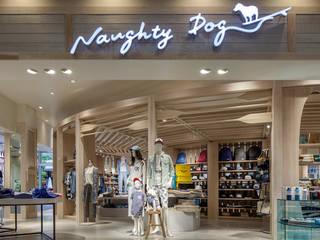 NAUGHTY DOG A-Square 地中海風商業空間 の KITZ.CO.LTD 地中海 木 木目調