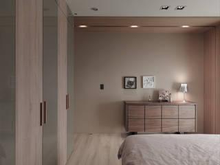 Dormitorios de estilo  de 形構設計 Morpho-Design, Moderno