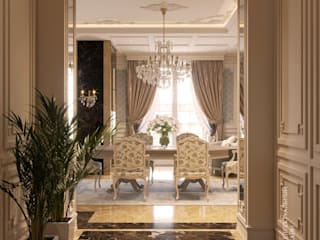 Classic style dining room by (DZ)M Интеллектуальный Дизайн Classic