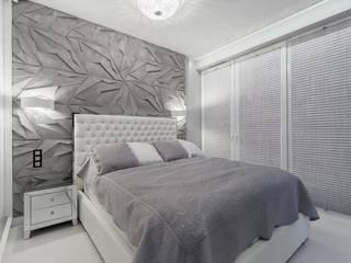 Lux Interiors - projektowanie i aranżacja wnętrz Gdańsk, Gdynia, Sopot ห้องนอนขนาดเล็ก