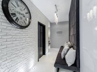Modern corridor, hallway & stairs by Lux Interiors - projektowanie i aranżacja wnętrz Gdańsk, Gdynia, Sopot Modern