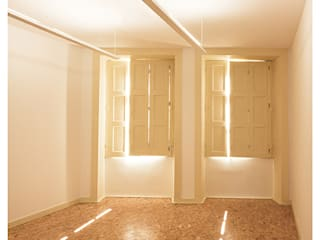 Sabiamente Centro de Estudos: Salas de estar  por Ren Ito Arquiteto,Mediterrânico