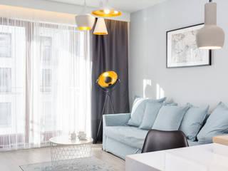Lux Interiors - projektowanie i aranżacja wnętrz Gdańsk, Gdynia, Sopot:  tarz Oturma Odası, Modern