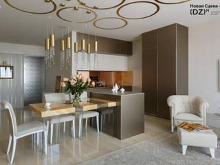 Modern living room by (DZ)M Интеллектуальный Дизайн Modern