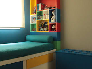 Dormitório infantil por Mari Milani Arquitetura & Interiores Moderno