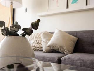 Proyecto Los pozos Livings de estilo minimalista de Casa Nómade Minimalista