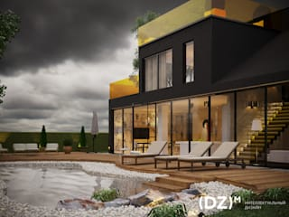 Мегарон Дома в эклектичном стиле от (DZ)M Интеллектуальный Дизайн Эклектичный