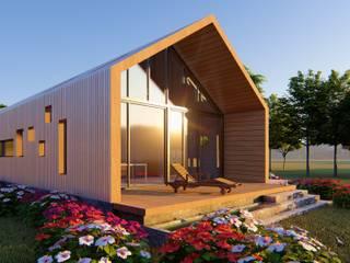 CASA C/V: Casas de campo de estilo  por Primer Clove Arquitectos, Rural