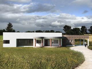 CASA VNB: Casas de campo de estilo  por Primer Clove Arquitectos, Rural