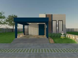 ESTUDO DE FACHADA - Taubaté por Design4Up Eclético