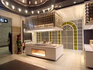웨딩홀 뷔페인테리어 - 트리니티웨딩 모던 스타일 호텔 by IDA - 아이엘아이 디자인 아틀리에 모던