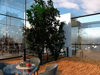 Terraza Arq. Bruno Agüero Balcones y terrazas modernos