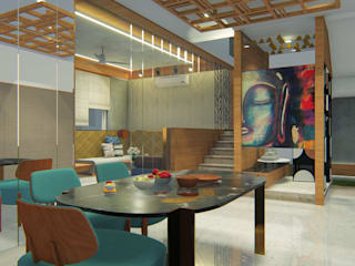 Modern dining room by Architects at Work Modern