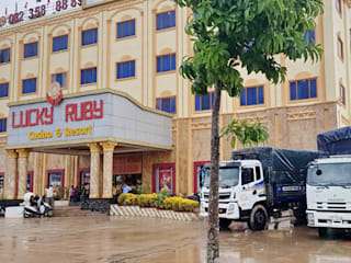 LUCKY RUBY HOTEL & RESORT, CAMPUCHIA. VAN NAM FURNITURE & INTERIOR DECORATION CO., LTD. Khách sạn