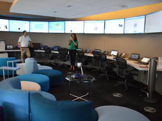 Digital hub in New York : Complessi per uffici in stile  di MARIA QUATTRINA, Moderno