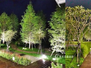 自然歐風花園:  前院 by 瀧禾實業有限公司,