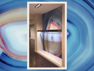 Tecnografica Moderne muren & vloeren Turquiose