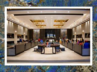 Tecnografica Moderne muren & vloeren Blauw