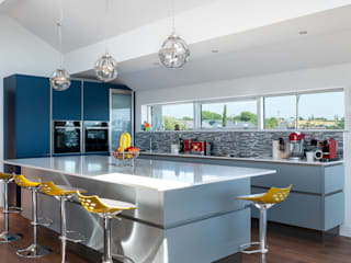 Built-in kitchens by Marvin Windows and Doors UK